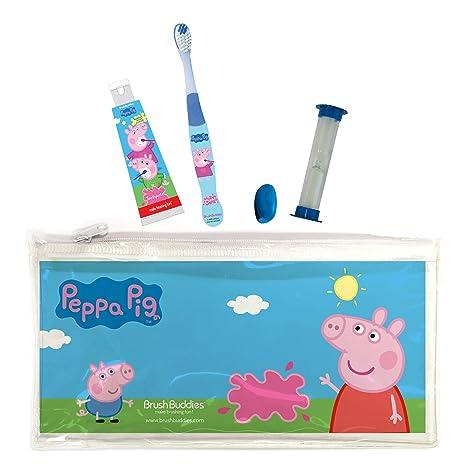 Brush Buddies Peppa Pig Travel Kit Toiletry Kits