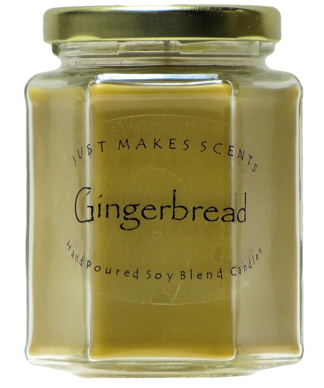 『4年保証』 Gingerbread香りつきBlended B00SF3L8WS Soy by Candle by Just Just Makes Scents B00SF3L8WS, メルシープレゼント 「雑貨屋」:89137c16 --- albertlynchs.com