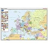 Posterkarten Geographie: Europa: politisch