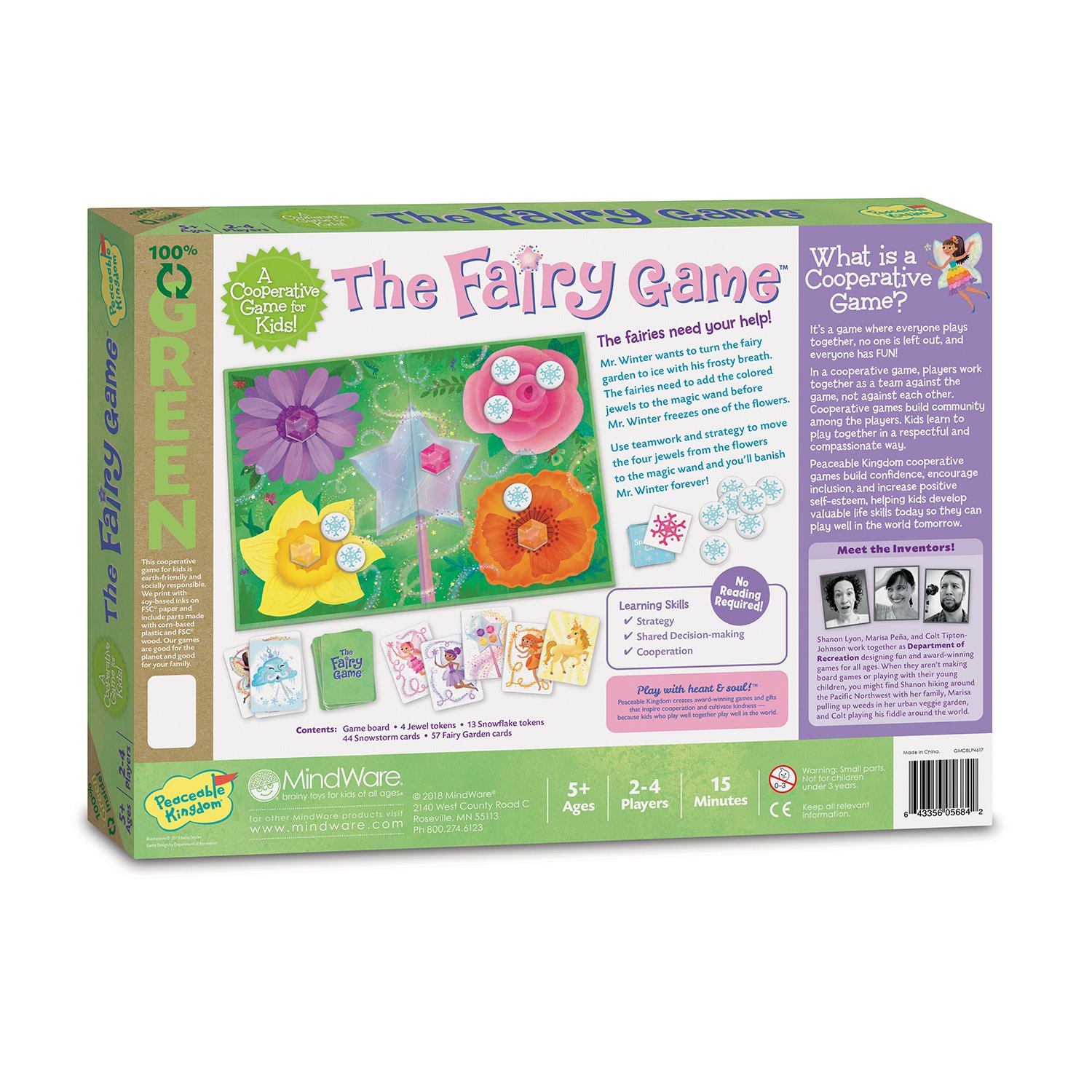 Peaceable Kingdom The Fairy Game Award Winning Cooperative Game of Logic and Luck for Kids by Peaceable Kingdom (Image #5)