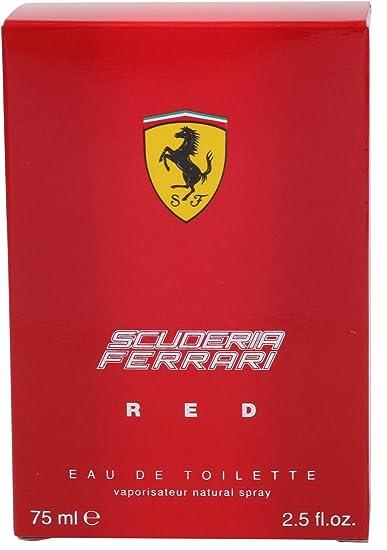 Ferrari - Red - Eau de toilette para hombres - 125 ml: Amazon.es: Belleza