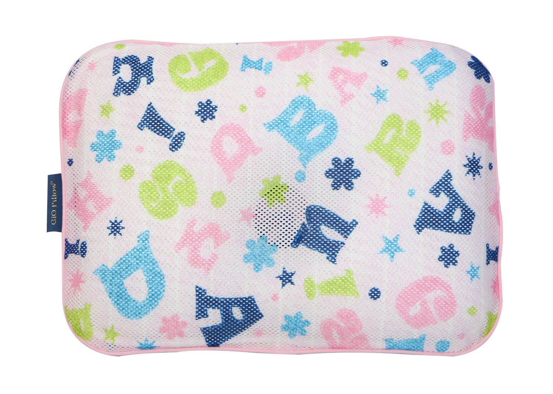 Breatheableエアメッシュ新生児幼児赤ちゃんの枕防ぐ平頭 – Alphabet Star (M) B071WRSF5L