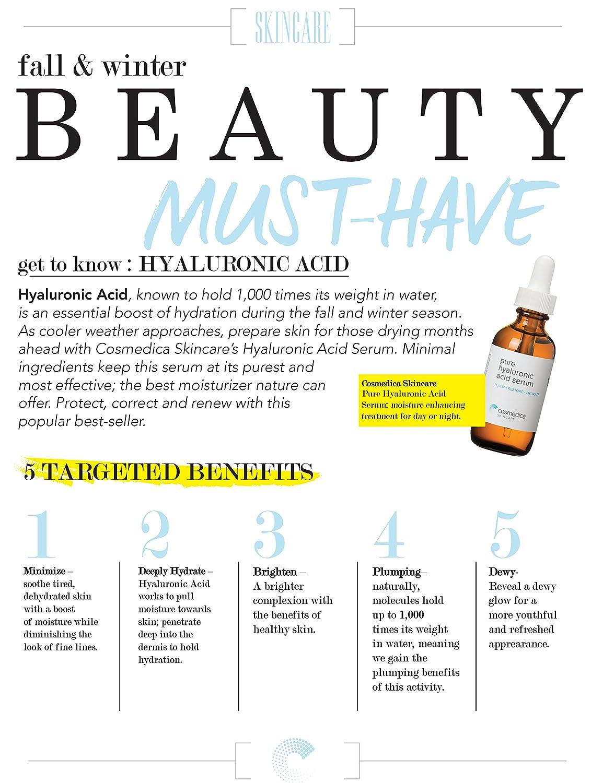 amazon com hyaluronic acid serum for skin 100 pure highest