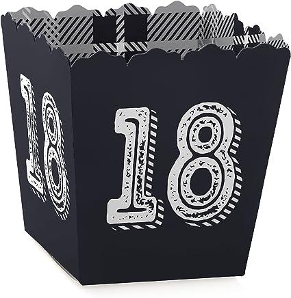 Amazon.com: 18th cumpleaños – tiempo para adulto – cajas de ...