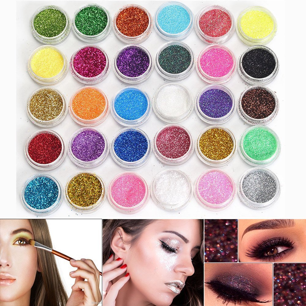 Eye Shadow Collection Here Brand 10 Color Shiny Matte Waterproof Eye Shadow Powder Palette Long-lasting Diamond Makeup Eye Shadow Liquid Highlighter Powder Refreshing And Beneficial To The Eyes Beauty Essentials
