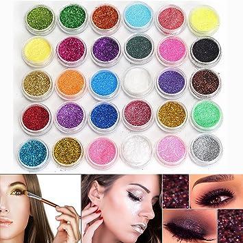 Neverland Professional 30 Mischfarbe Kosmetik Glitter Mineral