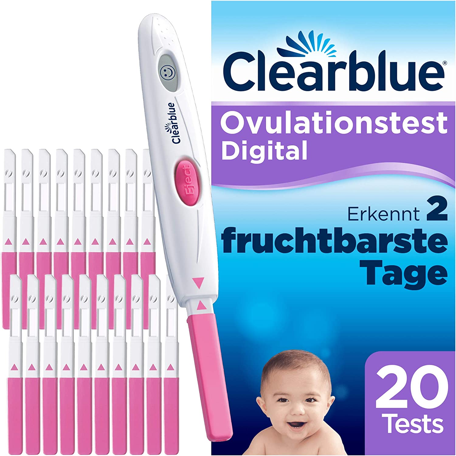 Clearblue Ovulationstest Lila