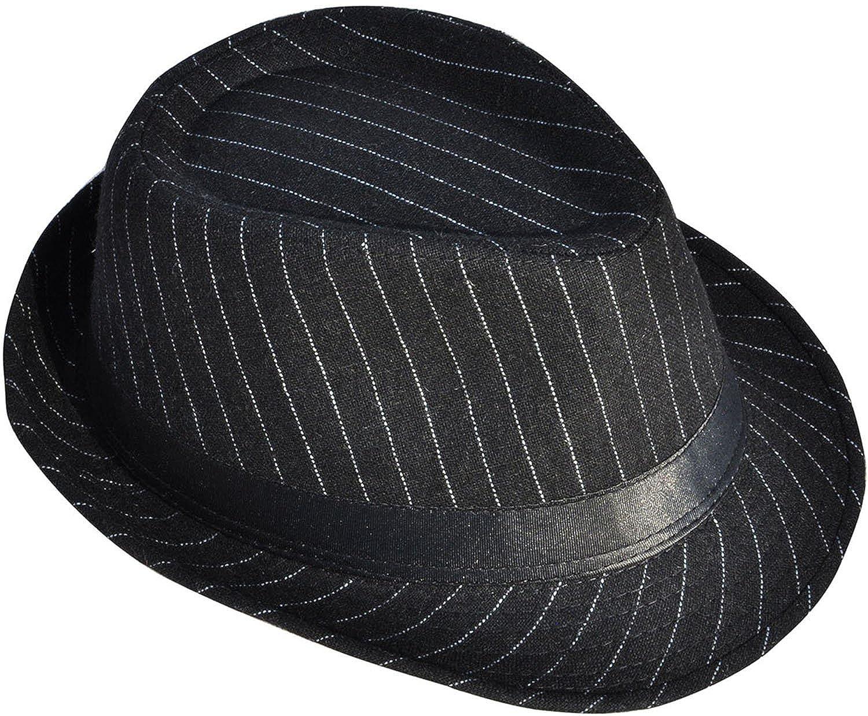 EPGU Men//Womens Classic Manhattan Trilby Fedora Hat