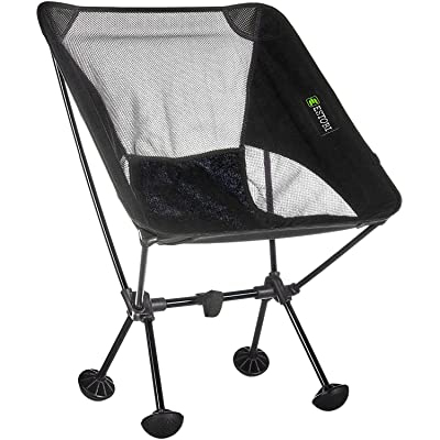 Estobi Outfitters Backpacking Chair - Lightweight, Compact and Portable - Perfect for Outdoors, Camping, Hiking, Tailgating or the Beach - Heavy Duty 300 Lbs Weight Capacity: Kitchen & Dining
