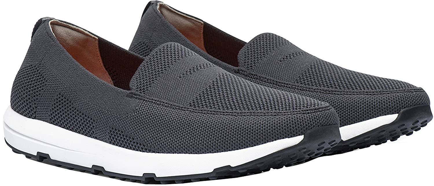 f37dd34a476 SWIMS Breeze Leap Knit Penny Loafer in Grey
