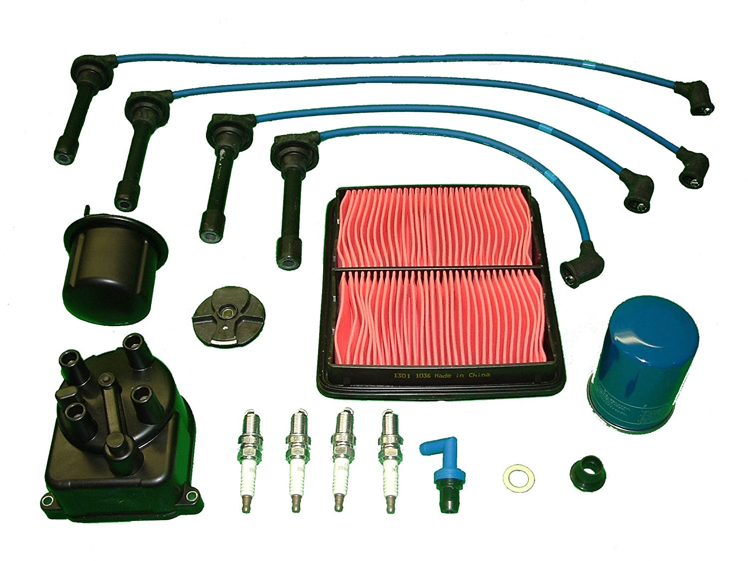 Tune Up Kit Honda Civic 16l 1992 To 1994 Automotive Wiring Harness Coupe