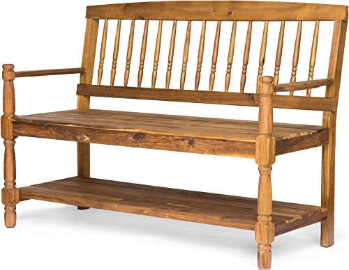 Christopher Knight Home 305334 Cody Outdoor Acacia Wood Bench