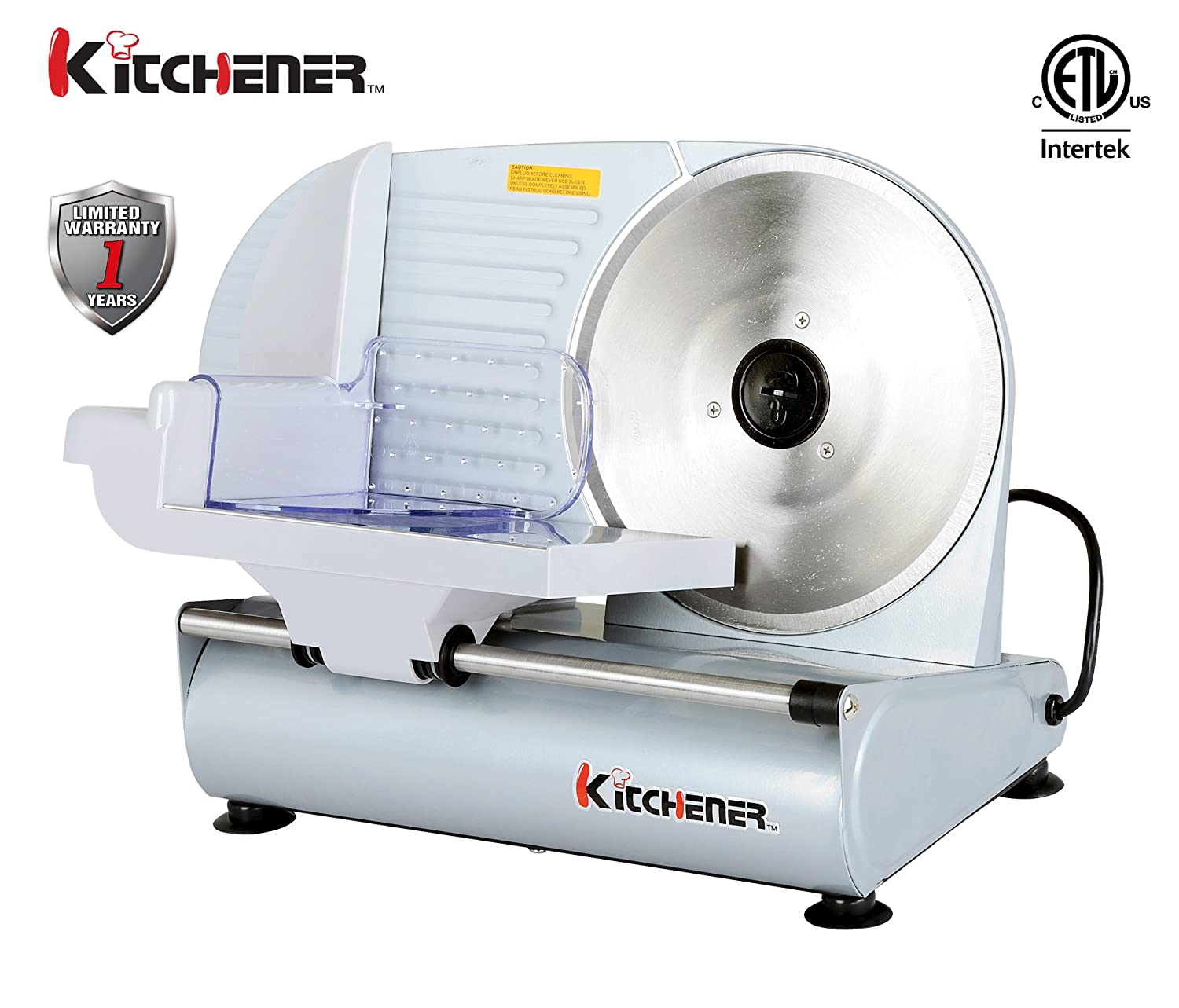 Amazon.com: Kitchener 9-inch Professional Electric Meat Deli Cheese ...