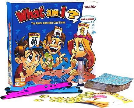 TOYLAND® What Am I Game - Juegos de Mesa Familiares - 2-4 Jugadores: Amazon.es: Juguetes y juegos