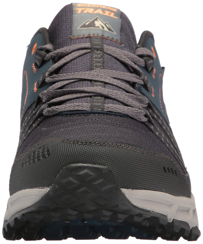 Skechers Herren Escape Plan Sneaker Blau (Navy/Orange)