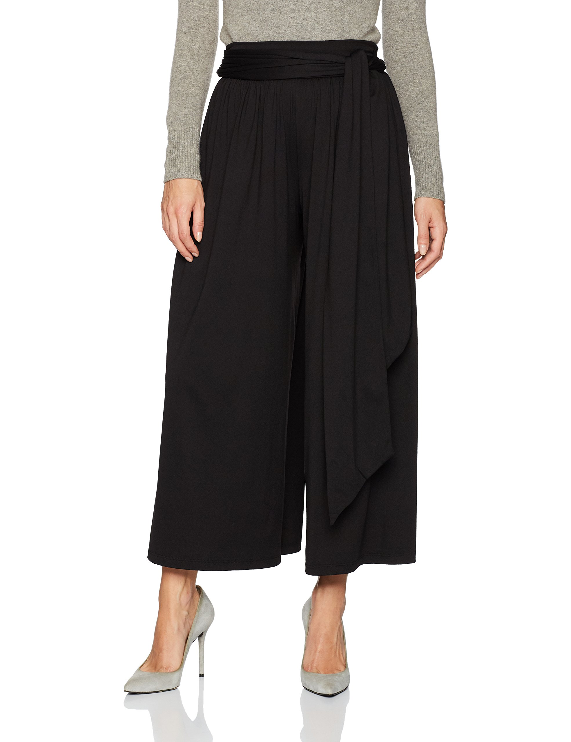 Susana Monaco Women's Leora Pant, Black, XL by Susana Monaco