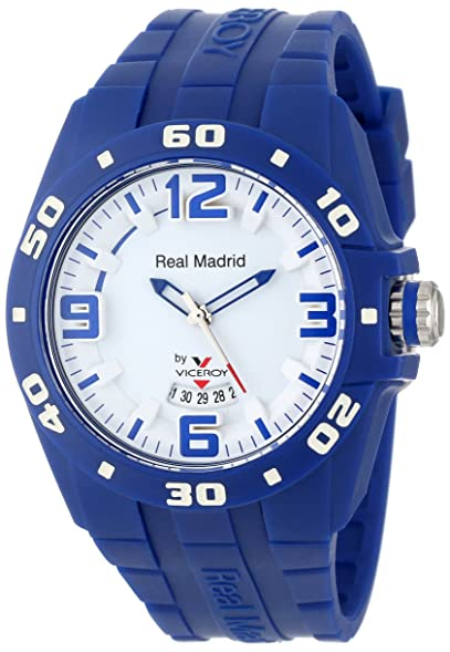 Viceroy Womens 432851-35 Real Madrid Sports Plastic Blue Rubber Date Watch