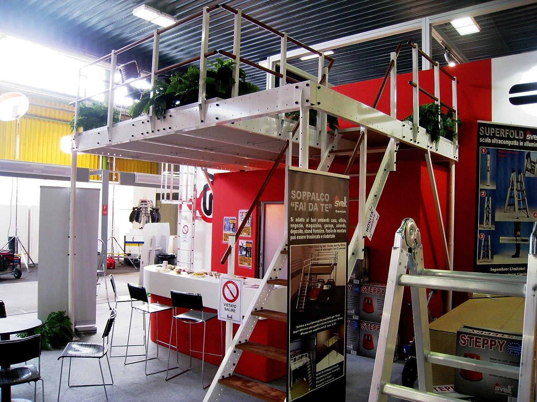 Soppalco Ferro Regolabile Da 5 A 15 Mq Soppalco Per Garage
