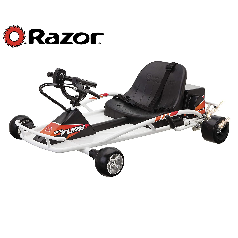 Amazon.com: Razor Ground Force Drifter Fury Ride-On: Sports ...