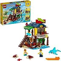 LEGO 31118 Creator 3in1 Surfer Strandhuis, Vuurtoren & Poolhouse Zomer Bouwset Voor Kinderen van 8+, Creatief Cadeau…