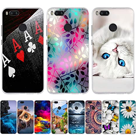 Amazon.com: Desirca Luxury For Xiaomi Mi A1 Case 3D Cute Cat ...