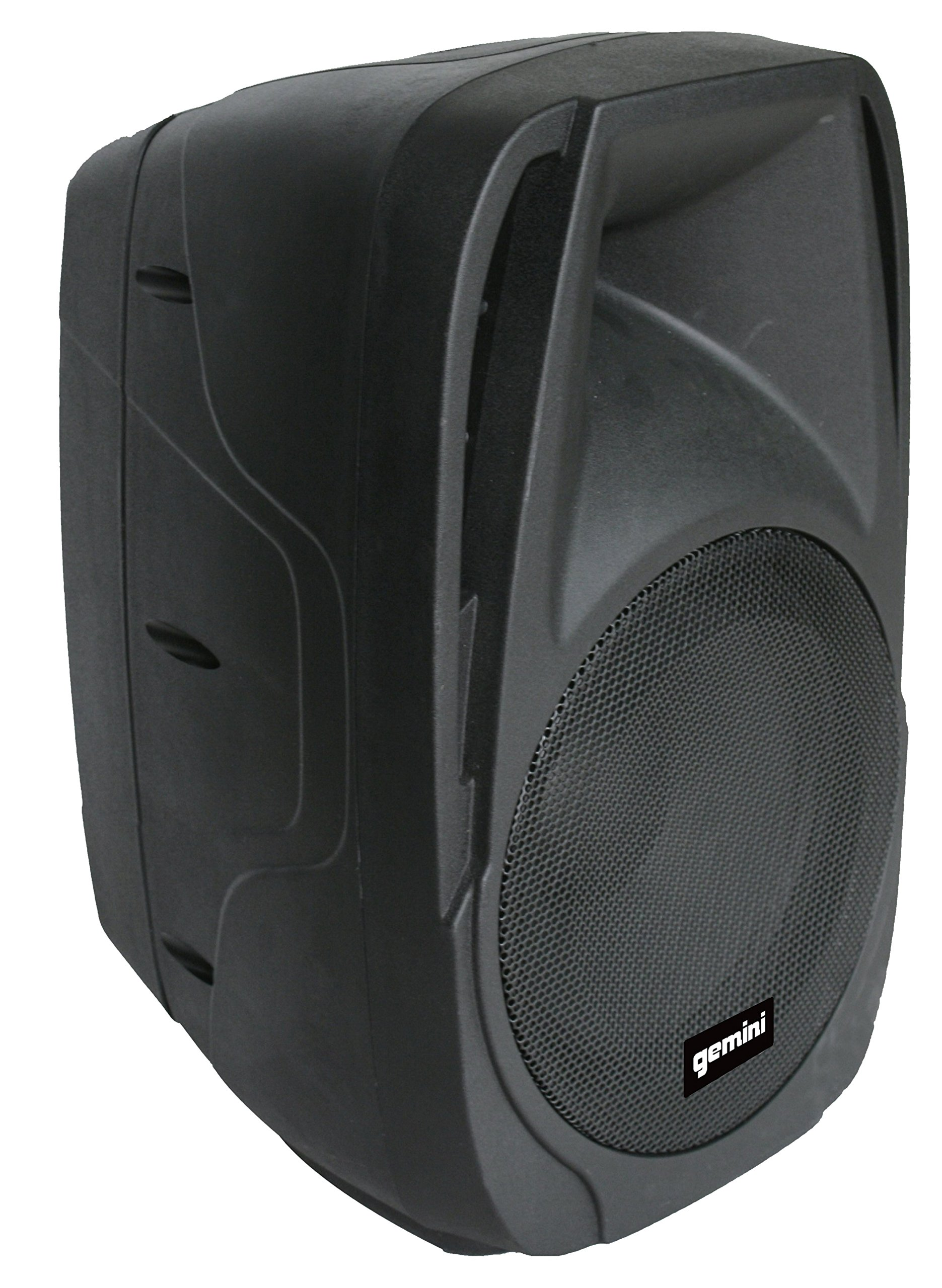 Gemini ES Series ES-210MXBLU Professional Audio Portable PA System with Two 10'' Passive Speakers and Microphone Included, 8 Channel Mixer, 4 Line/Mic Inputs by Gemini (Image #3)
