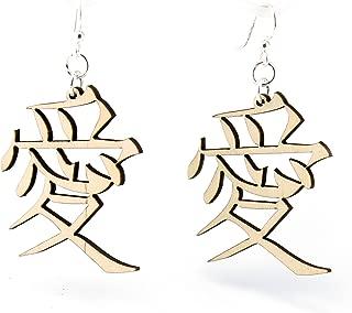product image for Kanji - Love Earrings