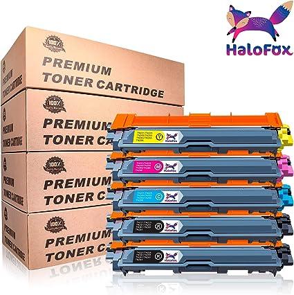 HaloFox 5 Cartuchos de tóner TN241 TN245 para Brother HL-3140CW HL ...