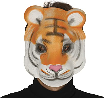 Guirca - Careta Tigre Goma eva infantil, u (2474.0)