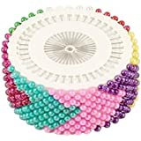 Trendz Handpicked Pack Of 480 Mixed Color Hijab Pins / Scarf Pins\