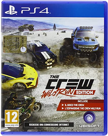 Ubisoft The Crew Wild Run Edition, PS4 - Juego (PS4, PlayStation 4 ...