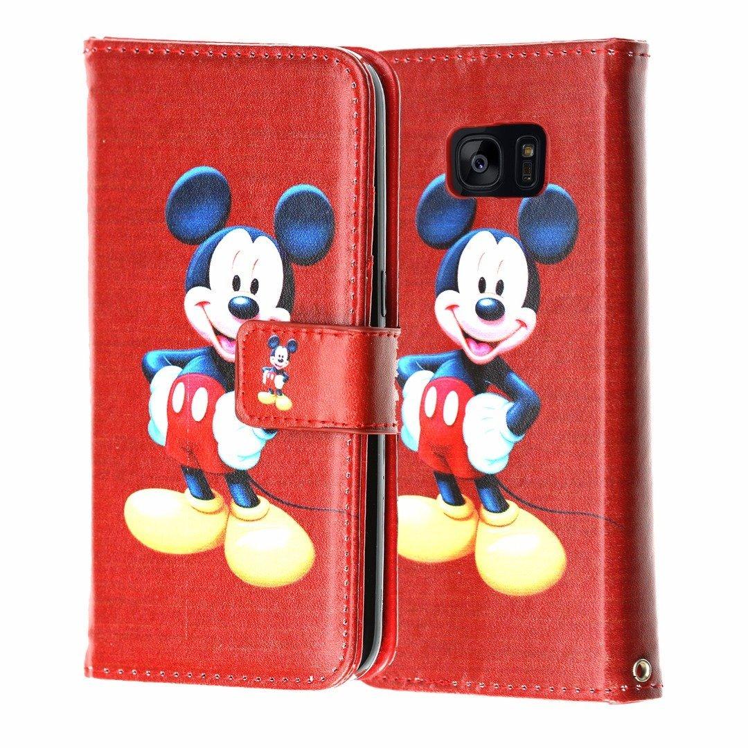 Amazon.com: Galaxy S7 Billetera Case, durarmor® PU Leather ...