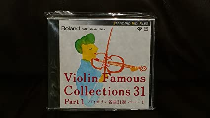 Amazon com: Roland SMF MUSIC DATA Diskette Violin Famous Collections