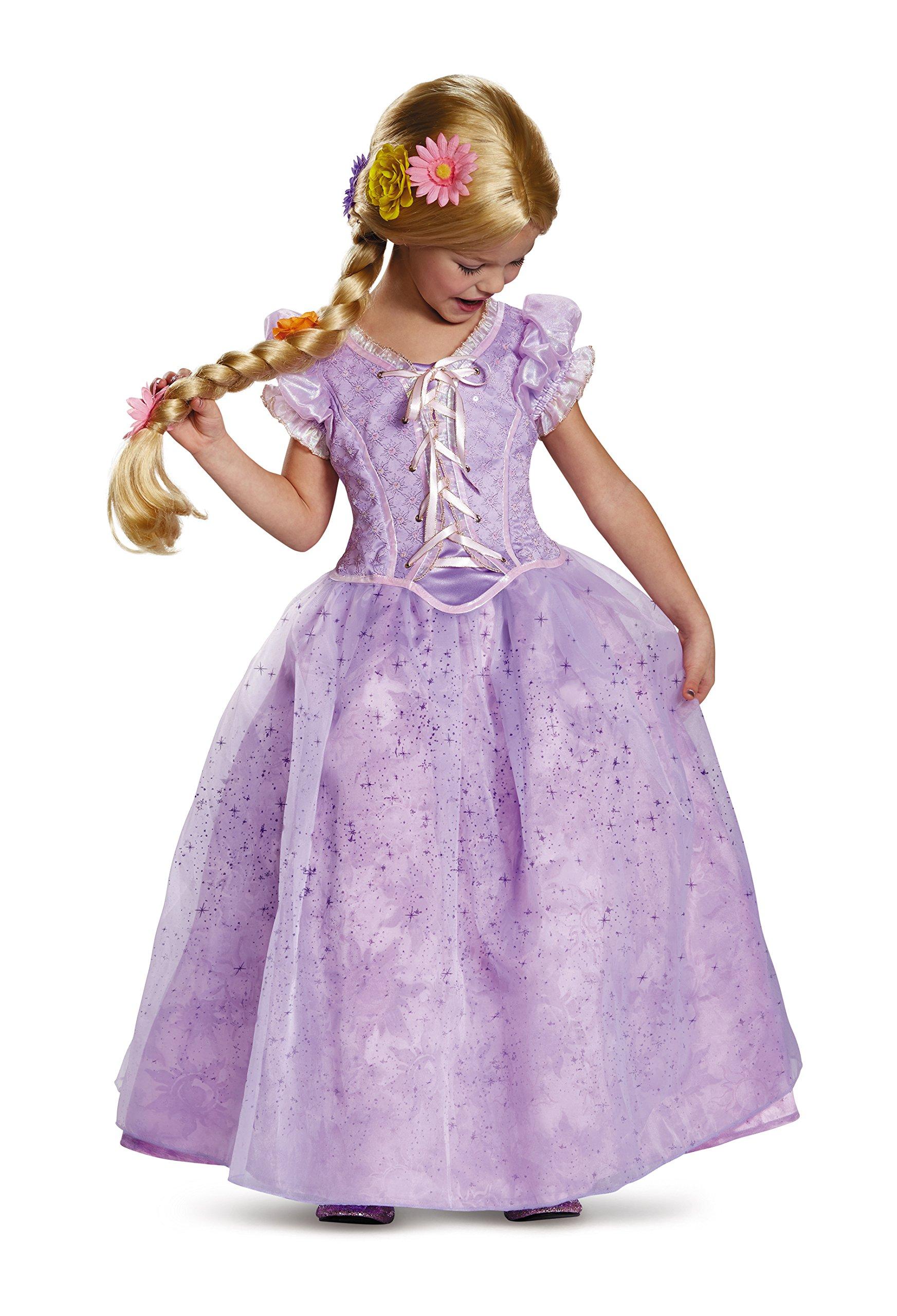 Rapunzel Ultra Prestige Disney Princess Tangled Costume, X-Small/3T-4T