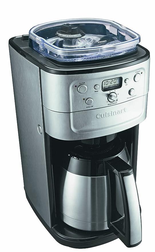 Amazon.com: Cuisinart Grind & Brew Plus – Máquina de café ...