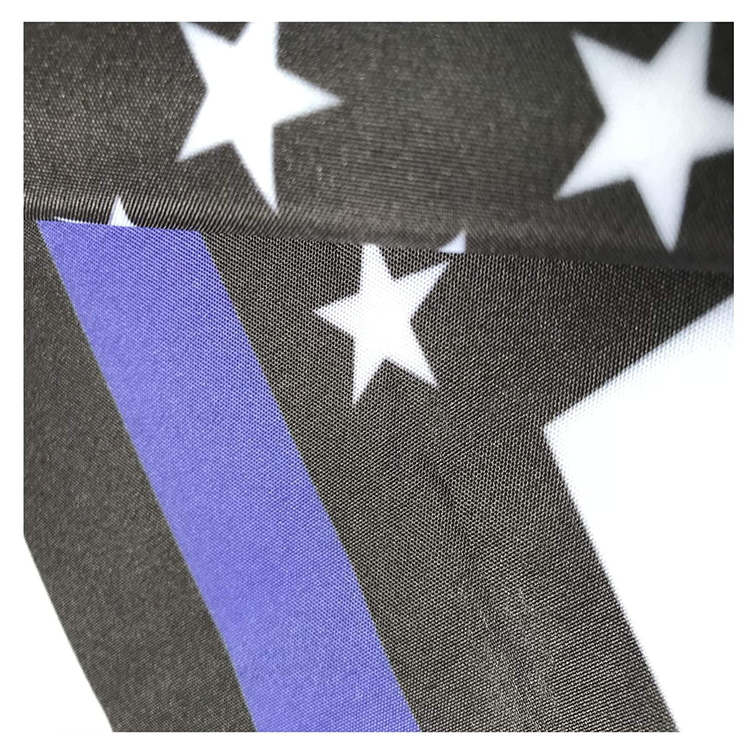 W/&X Garden Flag Stand /& American Flag thin blue line garden flag with Anti-Wind Clip,Stopper,Weatherproof 2 Sided 12x18 Inch Patriotic US Flag Banner Keep Your Flags from Flying Away in High Winds