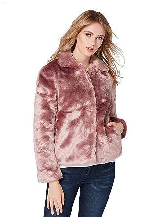 15dcbf67b6ea TOM TAILOR Denim für Frauen Jacken   Jackets Jacke aus Kunstfell Dusty  Mauve, ...