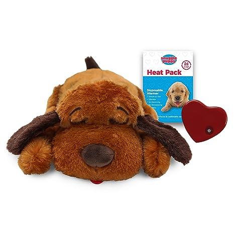5570f3bd26a4 Amazon.com: SmartPetLove Snuggle Puppy Behavioral Aid Toy, Brown ...