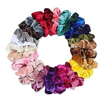 Women Hair Band Phone Line Rope Korean Elastic Cute Scrunchie Ponytail Holder
