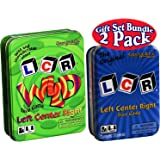 2 Pack, LCR Original in a Blue Tin & LCR Wild in a Green Tin Dice Game