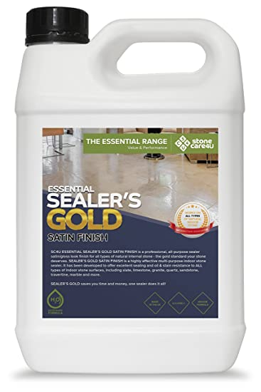 Stonecareu Essential SIEGLER Gold Satin Liter Interne - Fliesen 2te wahl