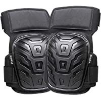 Knee Pads, Preciva Professional Gel Knee Pads for Work, Heavy Duty High Anti-Slip Straps and Double Gel Cushion Foam…