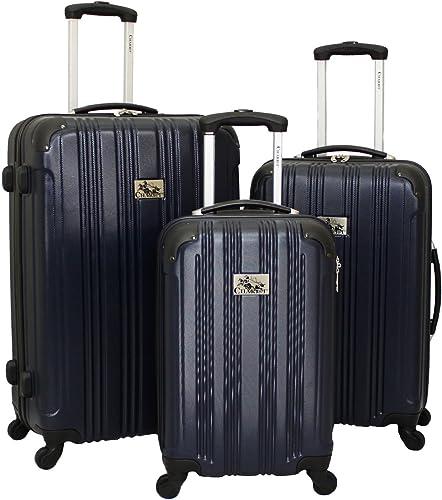 Chariot Modena 3-Piece Hardside Lightweight Upright Spinner Luggage Set