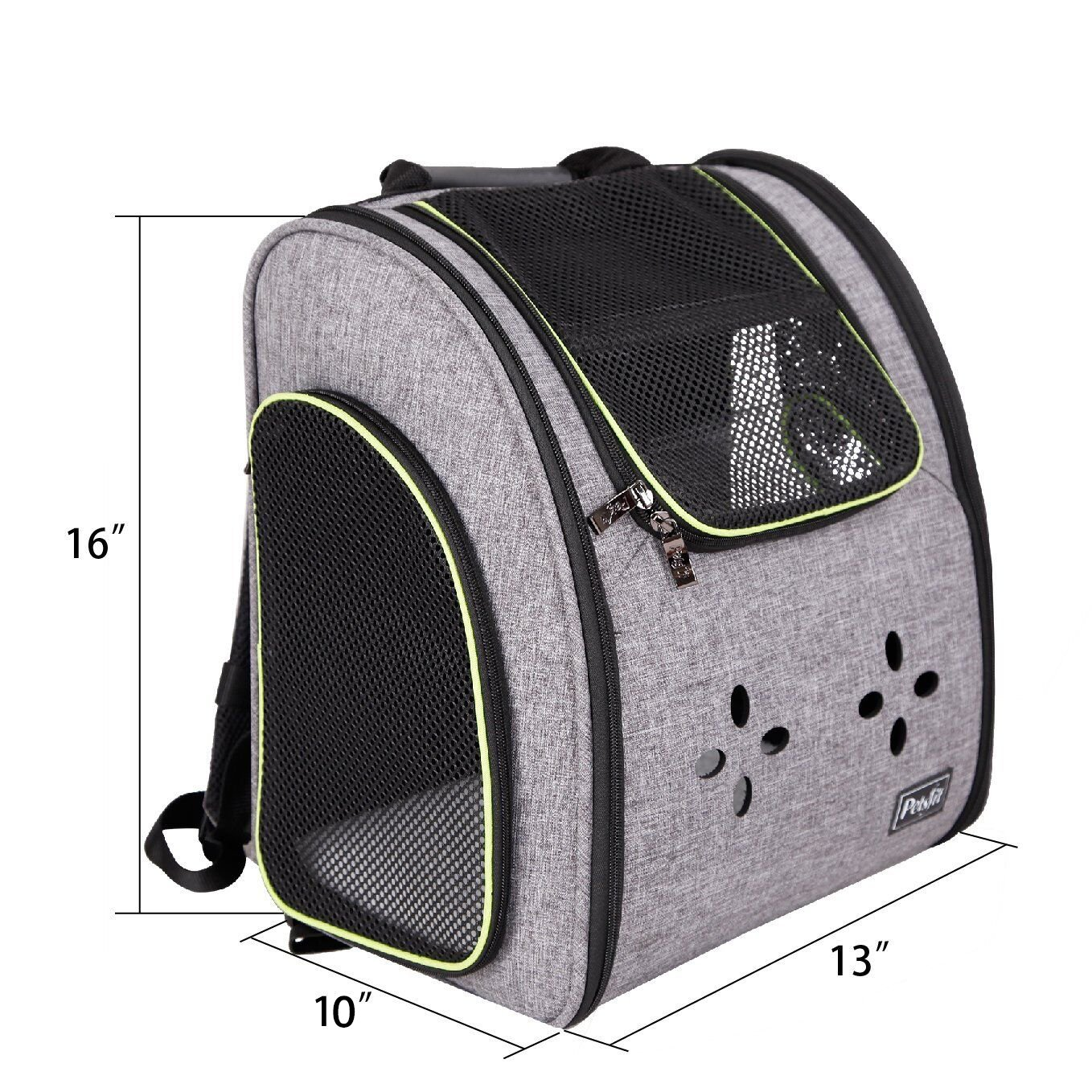Petsfit Dogs Carriers Backpack for Cat/Dog/Guinea Pig/Bunny Durable and Comfortable Pet Bag by Petsfit (Image #2)