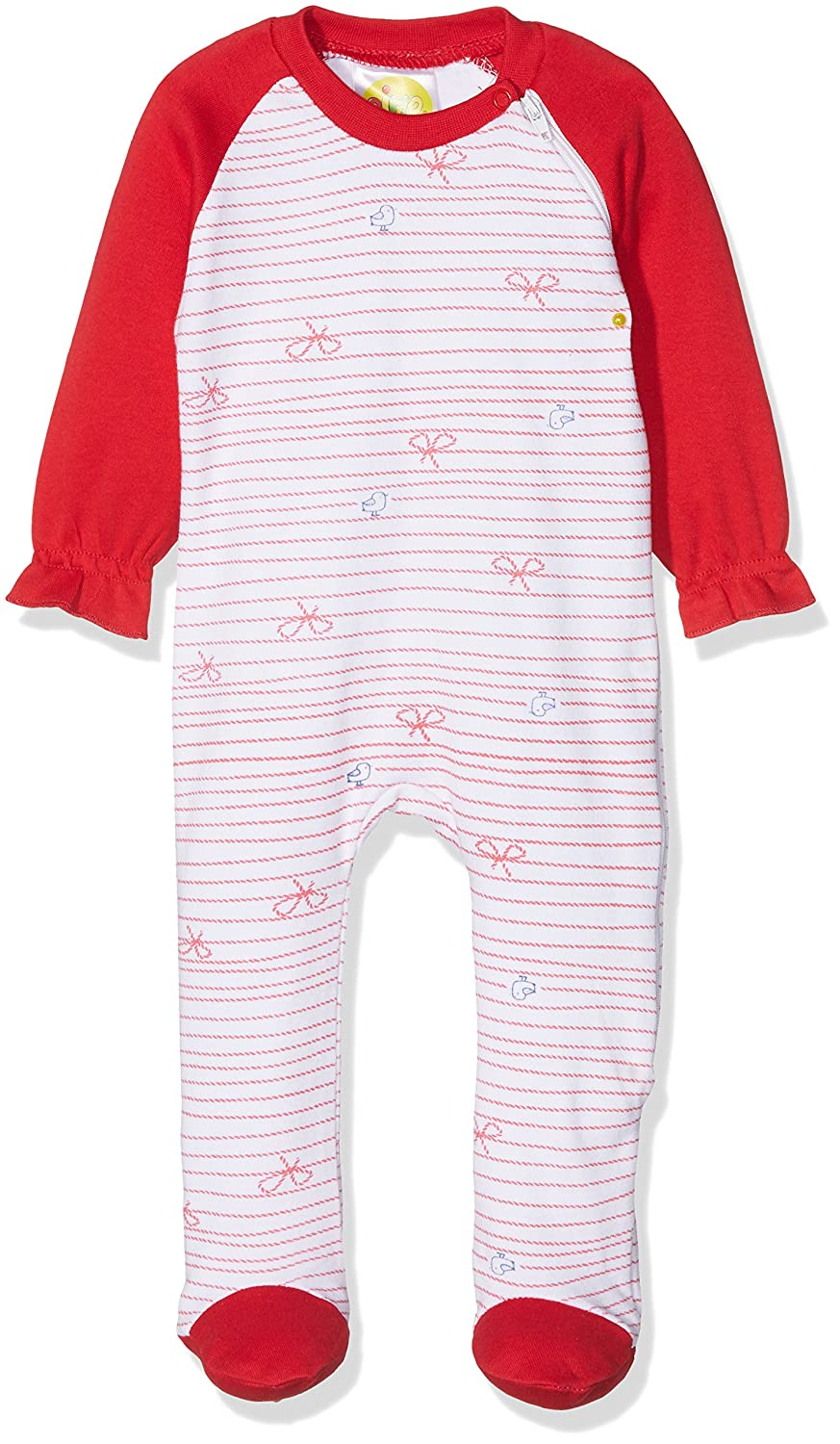 DIMO-TEX Baby Schlafoverall Marina Girls Footies 181033