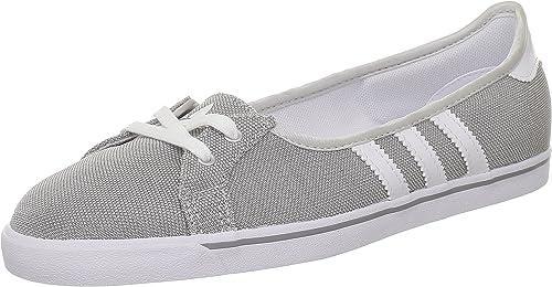 Volverse Perder la paciencia Distraer  adidas Women's Q22962 Ballet Silver Size: 8.5 UK: Amazon.co.uk: Shoes & Bags