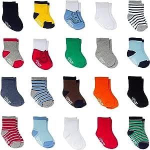 Little Me Baby 20 Piece Assorted Socks, Boys', Multi, 0-12/12-24 Months