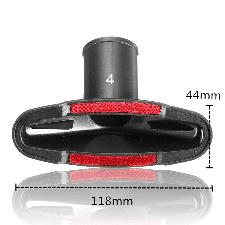 Herramienta de Cepillo de Accesorios Universal Mini Cepillo Cepillo de Escalera para Manguera est/ándar de 32 mm y 35 mm LNIEGE Kit de Accesorios para aspiradoras Reemplazo