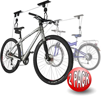 RAD Sportz Bicycle Hoist 2-Pack Quality Garage Storage Bike Lift