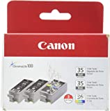 Canon PGI-35 Twin Black & CLI-36 Color Ink (1509B007AB/AE)